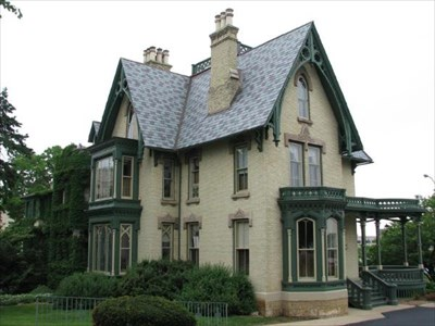 gothic style homes lake peterson house rockford illinois style 11912