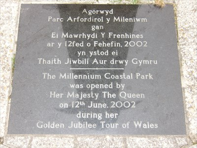 Millennium Coastal Park, Carmarthenshire, Wales.