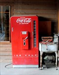 Image for 10¢ Coca Cola Vending Machine - Republic, Washinton