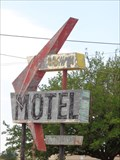 Image for Historic Route 66 - Washita Motel Neon - Canute, Oklahoma, USA