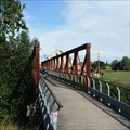 Image for Truss Bridge Pont-Rouge, Belgium.