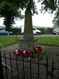 Image for Ault Hucknall Combined WW I & WW II Memorial