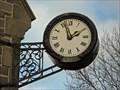 Image for Clock, North Lodge, Locke Park, Barnsley.