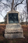 "Image for Pennsylvania's Ninth ""Lochiel"" Veteran Cavalry Monument - Chickamauga National Battlefield"