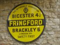 Image for Fringford AA Sign - Main Street, Fringford, Oxfordshire, UK