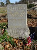 Image for Andrew Hagberg - Greenwood Cemetery - Hot Springs, AR