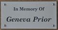 Image for Geneva Prior ~ Coal Valley, Illinois