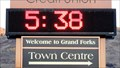 Image for Credit Union Time Temperature - Grand Forks, BC