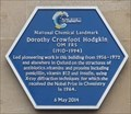 Image for Dorothy Crowfoot Hodgkin And Asteroid 5422 Hodgkin - Oxford, UK