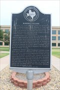 Image for McMurry College