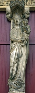 Image for Virgin Mary with infant Jesus (Main Portal) - Cathedral Laon / France