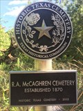 Image for R. A. McCaghren Cemetery