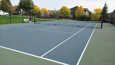 Magnolia Park Tennis Court
