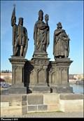 Image for Sculptural group of St. Norbert, St. Wenceslas and St. Sigismund on Charles Bridge / Sousoší Sv. Norberta, Sv. Václava a Sv. Zikmunda na Karlove moste (Prague)