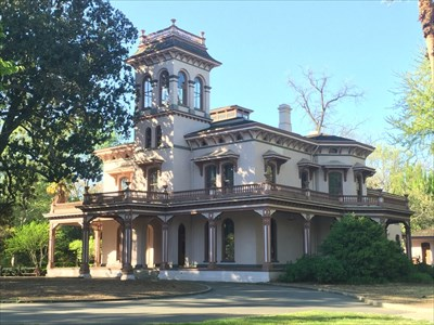 Bidwell Mansion Shp Chico California State Provincial Parks On Waymarking Com
