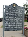 Image for Amana Colonies Historical Marker – Victor, IA