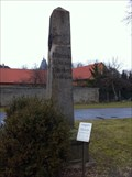 Image for Preußischer Ganzmeilenobelisk bei Zschortau, Germany, SN