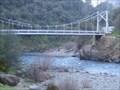 Image for Merced River - Suspension Bridge