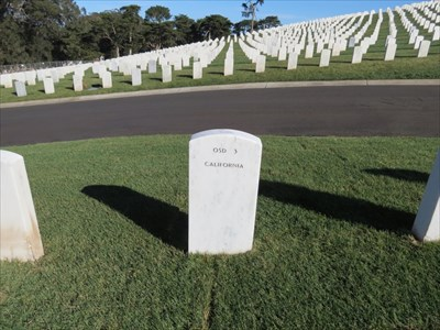 Reuben Jasper Phillips, Backside Setting, San Francisco National Cemetery