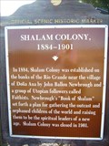 Image for Shalam Colony 1884-1901