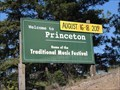 Image for Princeton: Home of the Traditional Music Festival -  British Columbia