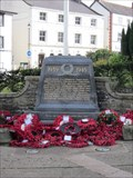 Image for WW2 Memorial, Castle Street, Llangollen, Denbighshire, Wales, UK
