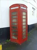 Image for Red Telephone Box, Caunsall, Staffordshire, England