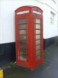 Image for Red Telephone Box, Caunsall, Staffordshire, England