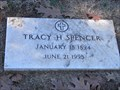 Image for 101 - Tracy H. Spencer - Fairlawn Cemetery - OKC, OK