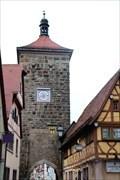 Image for Sieberstorturm (Tower) - Rothenburg ob ter Tauber, Bavaria, Germany