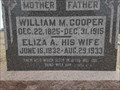 Image for 101 - Eliza A. Cooper, Clearwater Cemetery, KS