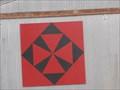 Image for Stash & Stiches Barn Quilt - Nash, OK