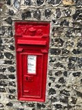 Image for Victorian Wall Post Box - West Dean, near Seaford, West Sussex, UK