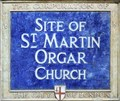 Image for St Martin Orgar - Martin Lane, London, UK