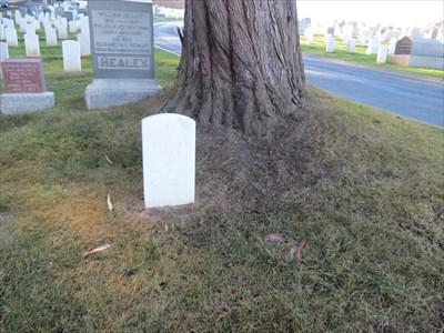 William F. Dean, Setting Near Tree, San Francisco National Cemetery