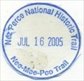 Image for Nee-Mee-Poo Trial-Nez Perce NHT-Spalding, ID