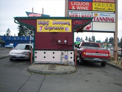 Italianissimo Staten Island. Bikini Bottom Espresso