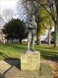 Image for Rupert Brooke Statue - Jubilee Gardens, Regent Street, Rugby, Warkwickshire, UK