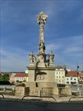 Image for The Holy Trinity Column - Hustopece, Czech Republic