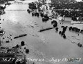 Image for 1951 Kansas River ATSF Bridge Collapse -- Topeka KS