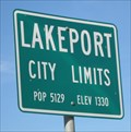 Image for Lakeport, CA - Pop: 5129