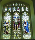 Image for Stained Glass Windows - St Peter's Church, Bennington, Herts, UK.