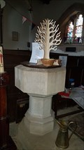 Image for Baptism Font - All Saints - Lubenham, Leicestershire