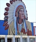 Image for Historic Route 66 - Cherokee Trading Post - Clinton, Oklahoma, USA.