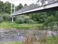 Image for Araheke Bush Walk suspension bridge. Taranaki. New Zealand.