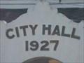 Image for 1927 - City Hall, Davenport, Florida, USA.