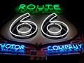 Image for Route 66 Neon - Oklahoma Route 66 Museum - Clinton, Oklahoma, USA.