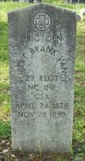 Image for US Congressman and Brigadier General Robert Brank Vance