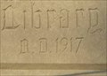 Image for 1917 - George Oakes Tobey Memorial Library - Wareham, MA