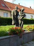 Image for sousoší Lidé bez domova, Sedlcany, Czech republic